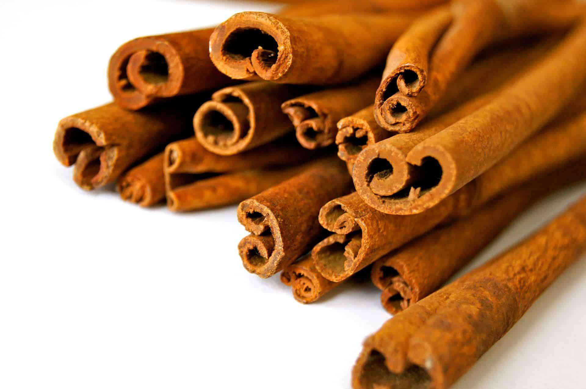 Cinnamon - Tastes good and makes you not feel hungry