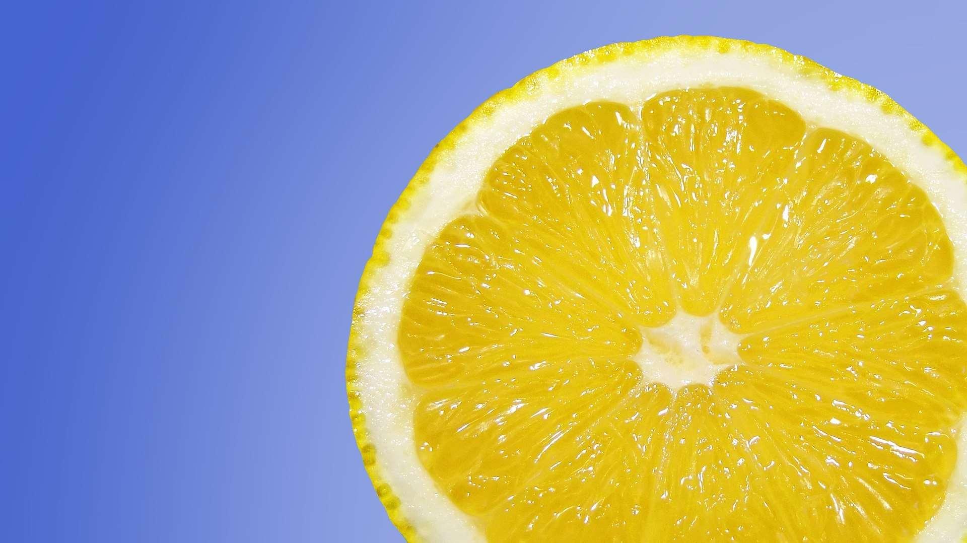 Lemons reduce appetite