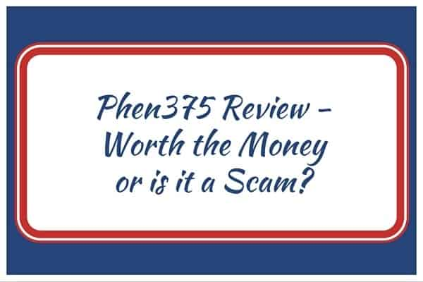 Phen375 Review - Worth the Money or is it a Scam?