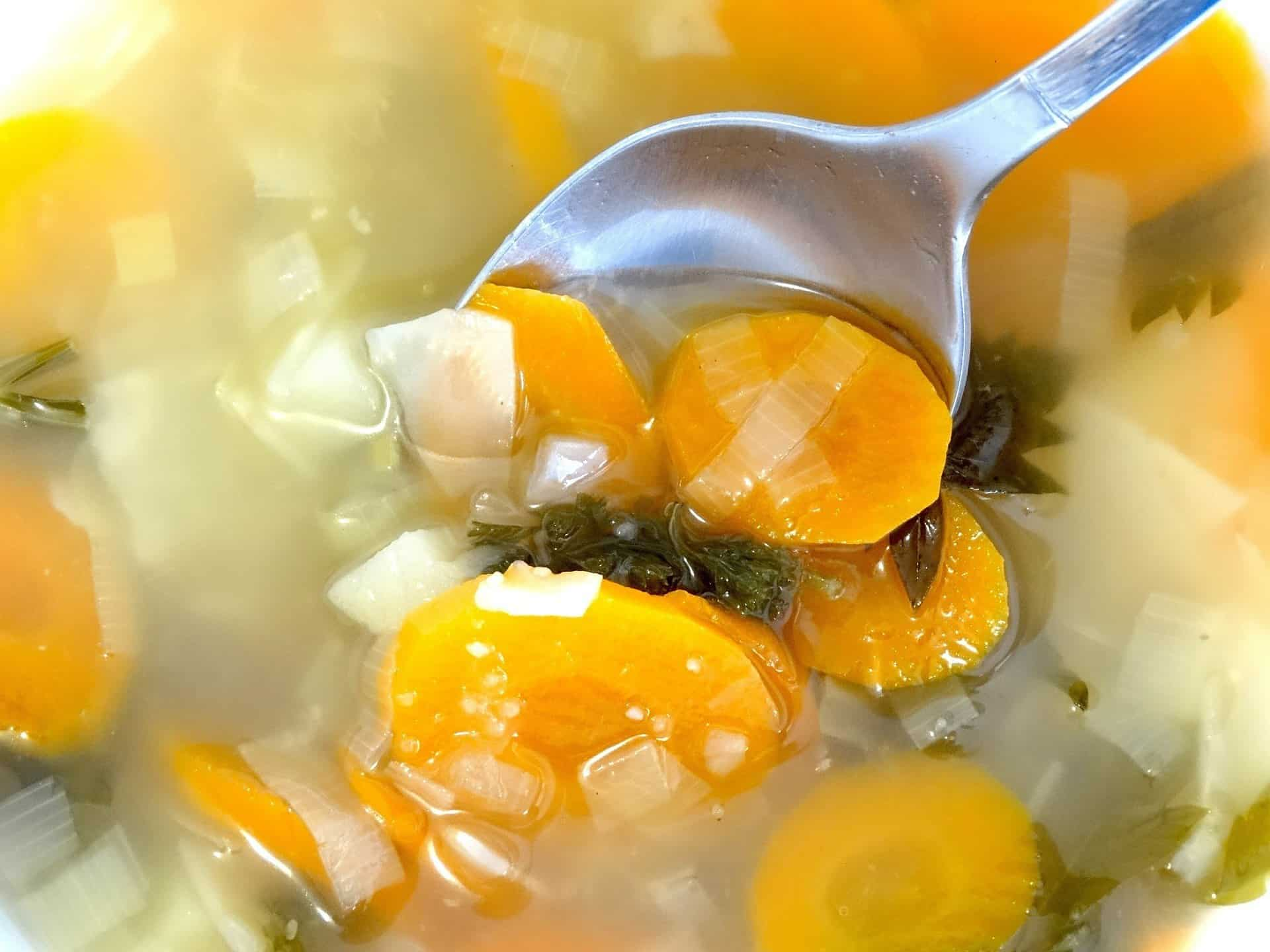 Vegetable Soup to fill you up