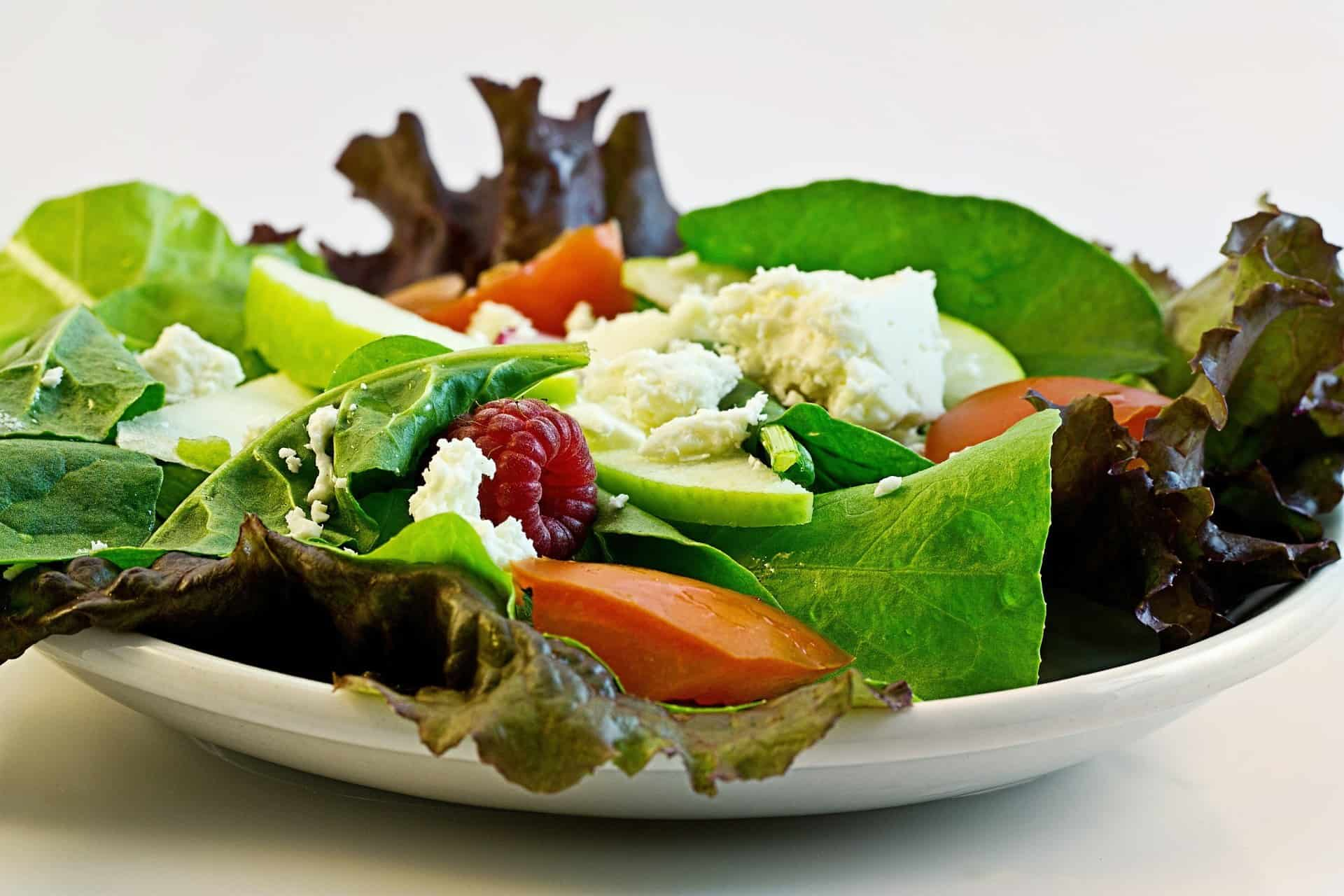 Salad to suppress hunger